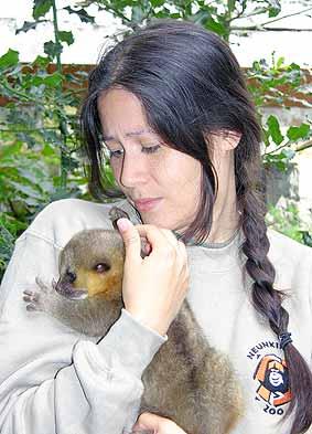 Tierärztin Carina Johann hat ihre Arbeit aufgenommen